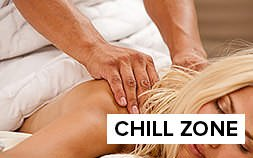Chill out with a pampered massage