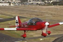 Aerobatics in a Robin 2160