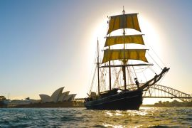 Tall Ship Twilight Dinner Cruise