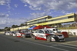 V8 Race Car Driving, 4 Laps at Sandown