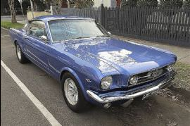 Hire a 1965 Mustang Fastback for the Day