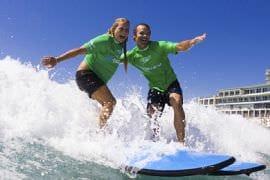 Family Surfing Lesson at Bondi