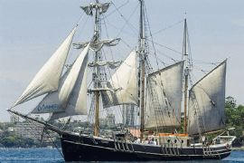 Tall Ship Lunch Cruise for Two with Drinks Package