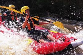 Sports Rafting the Yarra River