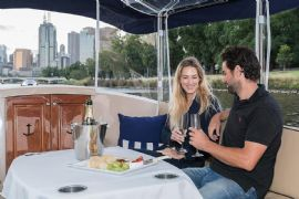 Private Boat Hire for Two with Wine and Cheese