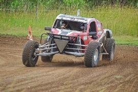 Drive a V8 Buggie for 8 Laps plus 1 Hot Lap