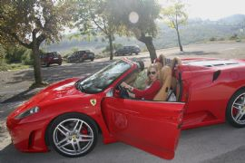 Ferrari Drive and Lunch for 2 at Eagle Heights