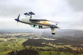 Intense Aerobatics in an Extra 330LX