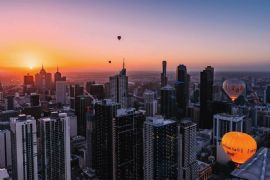 Hot Air Balloon Flight Over Melbourne, Weekday