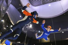 Virtual Reality Indoor Skydiving, Ultimate