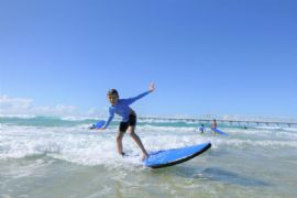 Kids Only Introduction to Surfing