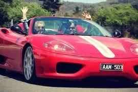 Drive a Ferrari for 16km Plus Photo