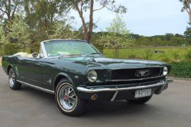 1966 Mustang Convertible Hire for the Day