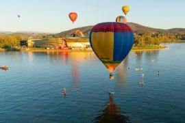 Weekend Canberra Balloon Flight with Breakfast