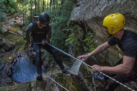Abseiling and Canyoning 2-in-1 Beginner Combo