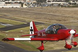 Aerobatics in a Robin 2160