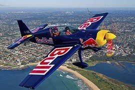Aerobatic Flight over Sydney, 45 Minute Flight