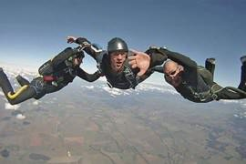 Accelerated Freefall Skydive Stage 1