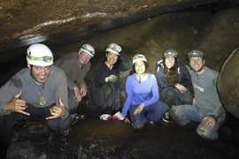 Caving at Britannia Caves, Adult