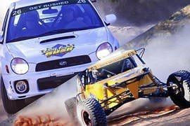 V8 Buggy and Rally Car Combo
