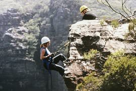 Abseiling Mini Jump For Two