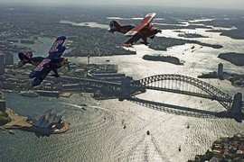 Sydney Harbour Biplane Flight