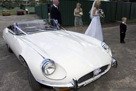 E-Type Classic Car Hire