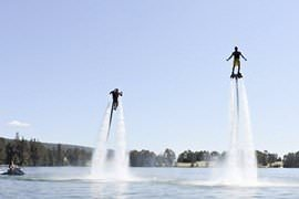 Jet Pack and Jetboard Extended Flight