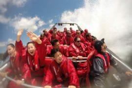 Jet Boat Thrill Ride, Family