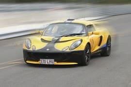 Lotus Exige Race at Morgan Park