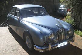 Jaguar Mk2 1962 For A Day