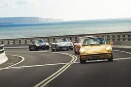 Porsche Driving Cruise With Passenger