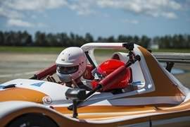 Radical Hot Laps at Queensland Raceway