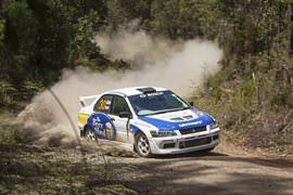 XLR8 Rally Car Drive, 9 Laps