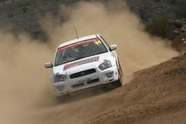 Rally Driving Thrill in a Subaru Turbo, 9 Laps