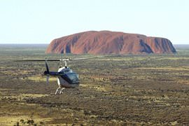 Ayers Rock Helicopter Flight