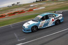 V8 Front Seat Hot Laps at Barbagallo