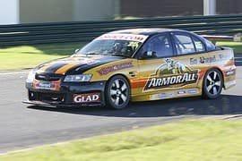 V8 Race Car Driving, 4 Laps at Sandown