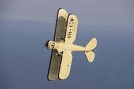 Aerobatics in a Waco Biplane