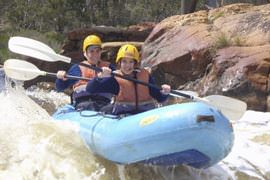 White Water Rafting the Murray
