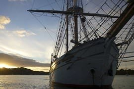 Tall Ship Wine & Canapes Cruise
