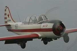 YAK 52 Mild Aerobatics, 25 Minutes