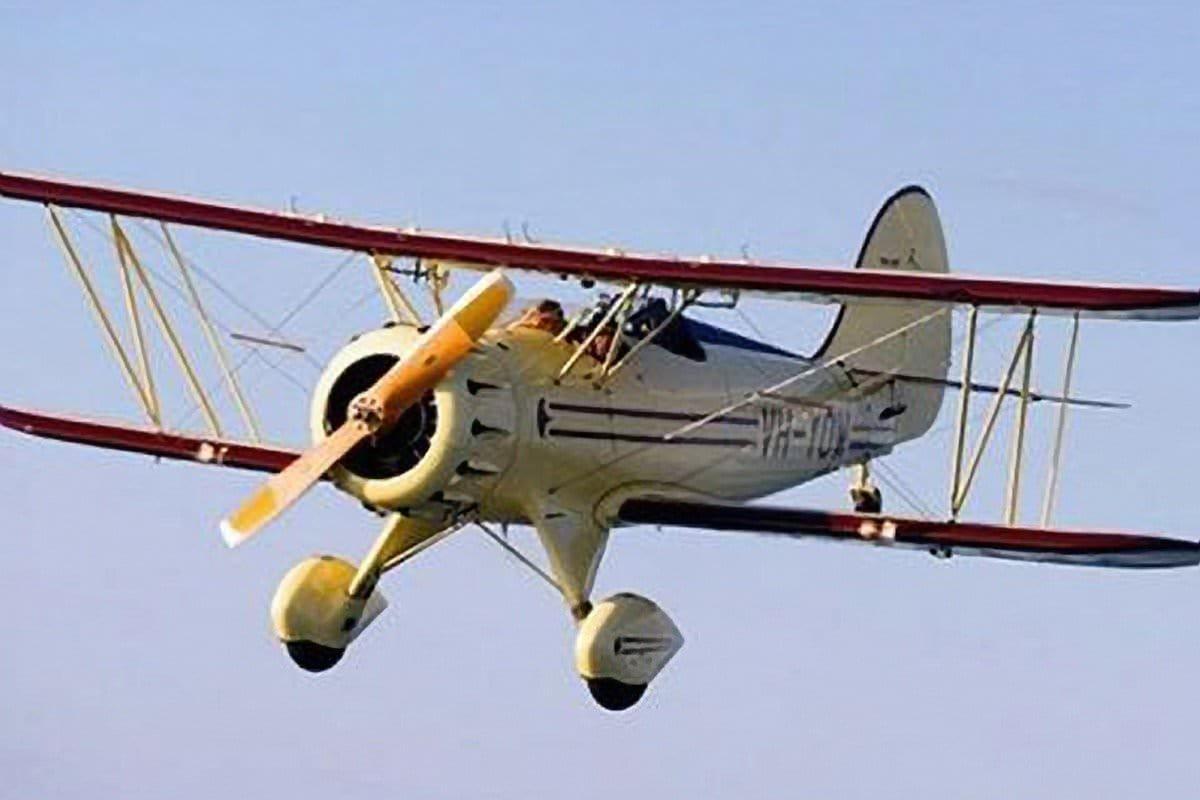 Caloundra to Mooloolaba Waco Biplane Flight for 2